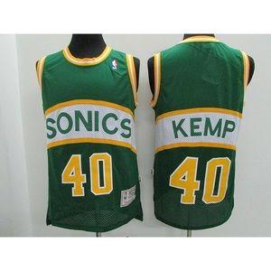 Seattle SuperSonics Shawn Kemp Jersey